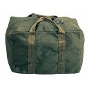 Army canvas blanket bag