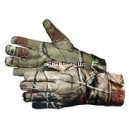 Hunters Insulated Gloves Spandex Long Ap Camo