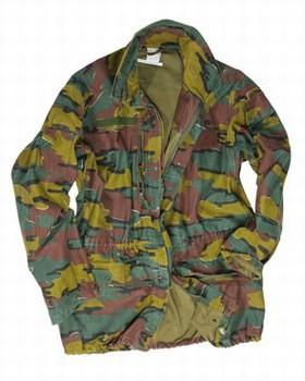 Belgium M90 Camo Field Jacket Used