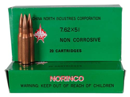 M80 NATO Ball Cartridges 7.62 X 51