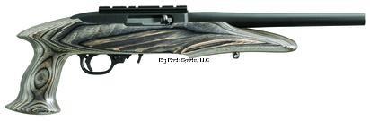 Ruger 4901 CHR22-10 Charger Pistol 22LR Black Laminate 10 Rnd