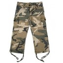 WOODLAND CAMO STRETCH FLARE PANTS
