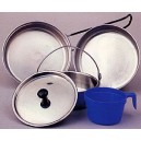 GI TYPE STAINLESS STEEL MESS KIT