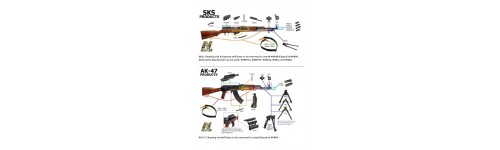 AK SKS Products Diagram