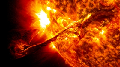 Sun exhibiting the more unusual, erratic behavior in recorded history?