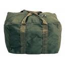 Army canvas blanket bag