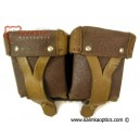 Original Russian Mosin-Nagant Leather Ammo Pouch