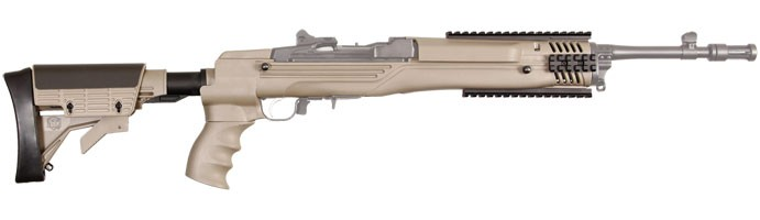 Ruger Mini-14 Mini-30 Strikeforce Stock in Desert Tan