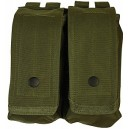 Nylon Shotgun Shell Pouch- Woodland Camo
